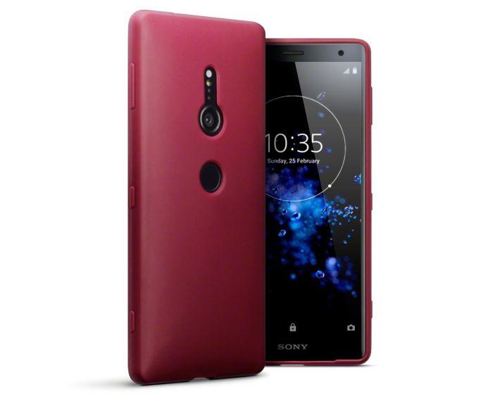 Terrapin Θήκη Σιλικόνης Slim Fit Silicone Case (118-005-457) Red Matte (Sony Xperia XZ2)