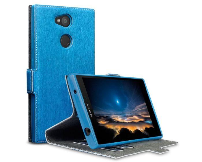 Terrapin Θήκη Πορτοφόλι (117-005-566) Γαλάζιο (Sony Xperia L2)