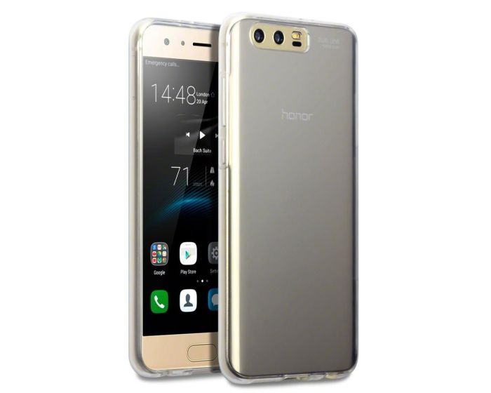 Terrapin Διάφανη Θήκη Σιλικόνης Slim Fit Silicone Case (118-083-130) Clear (Huawei Honor 9)