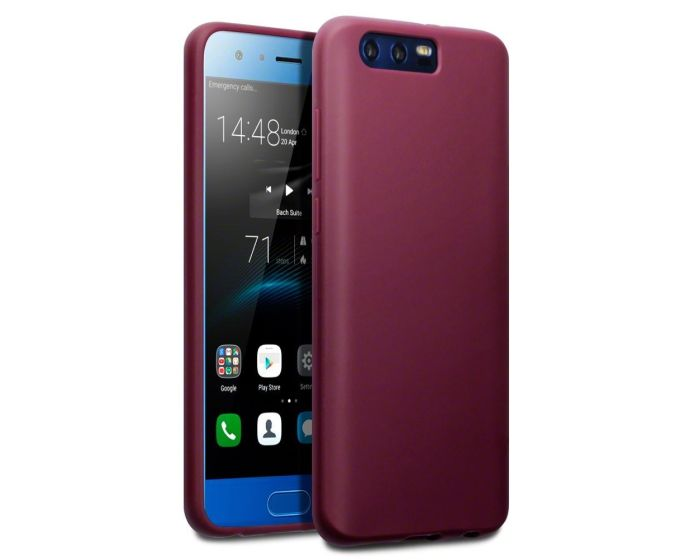 Terrapin Θήκη Σιλικόνης Slim Fit Silicone Case (118-083-133) Matte Red (Huawei Honor 9)