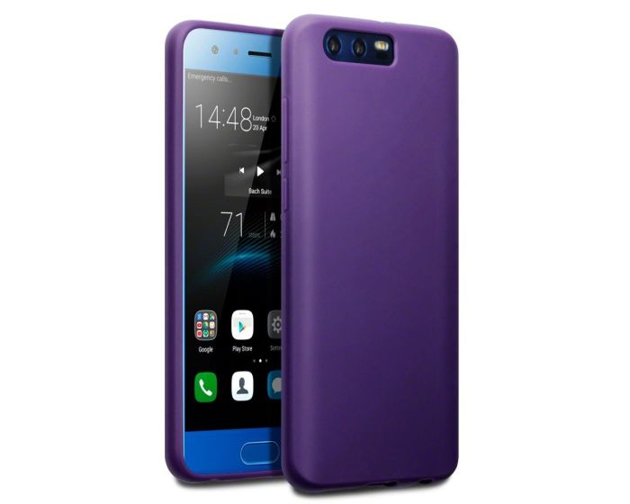 Terrapin Θήκη Σιλικόνης Slim Fit Silicone Case (118-083-134) Matte Purple (Huawei Honor 9)