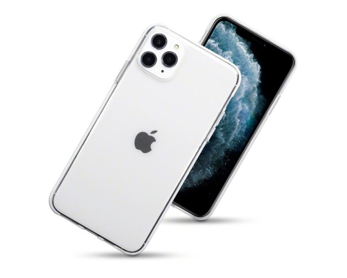 Terrapin Θήκη Σιλικόνης Slim Fit Silicone Case (118-131-001) Clear (iPhone 11 Pro Max)