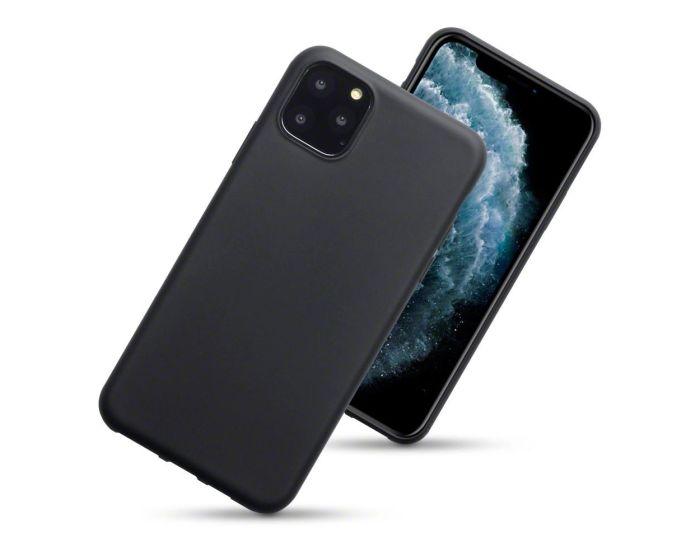 Terrapin Θήκη Σιλικόνης Slim Fit Silicone Case (118-131-002) Black Matte (iPhone 11 Pro Max)