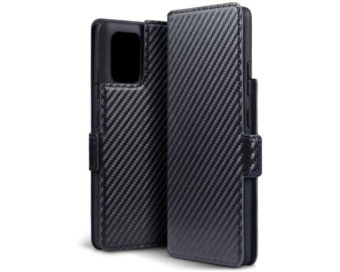 Terrapin Θήκη Πορτοφόλι Wallet Case (117-002a-266) Carbon Fibre Black (Samsung Galaxy S10 Lite)