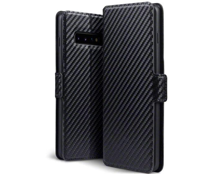 Terrapin Θήκη Πορτοφόλι Wallet Case (117-002a-116) Carbon Fibre Black (Samsung Galaxy S10 Plus)