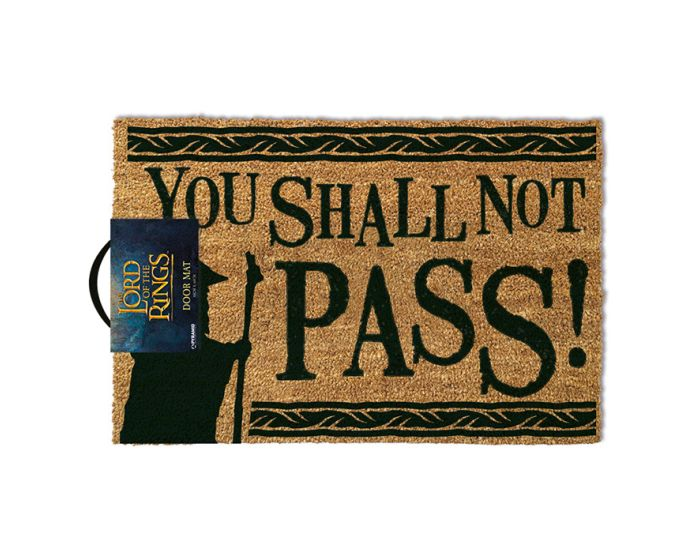The Lord Of The Rings (You Shall Not Pass) Door Mat - Πατάκι Εισόδου 40x60cm
