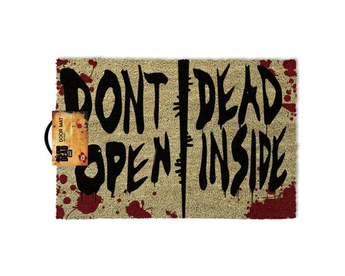 The Walking Dead (Dont Open Dead Inside) Door Mat - Πατάκι Εισόδου 40x60cm