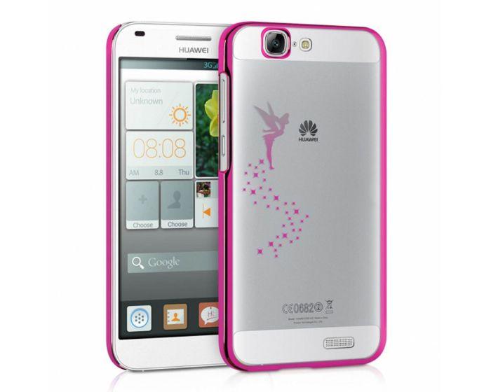 Ultra Thin Crystal Glitter Fairy Case (26782.08) Πλαστική Θήκη Pink (Huawei Ascend G7)