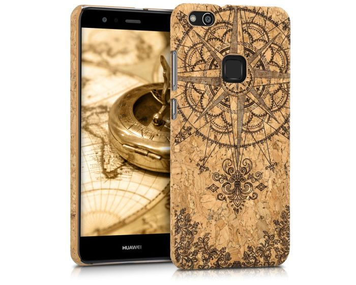 KWmobile Hard Cork Case Θήκη από φελλό (41389.03) Baroque Compass (Huawei P10 Lite)