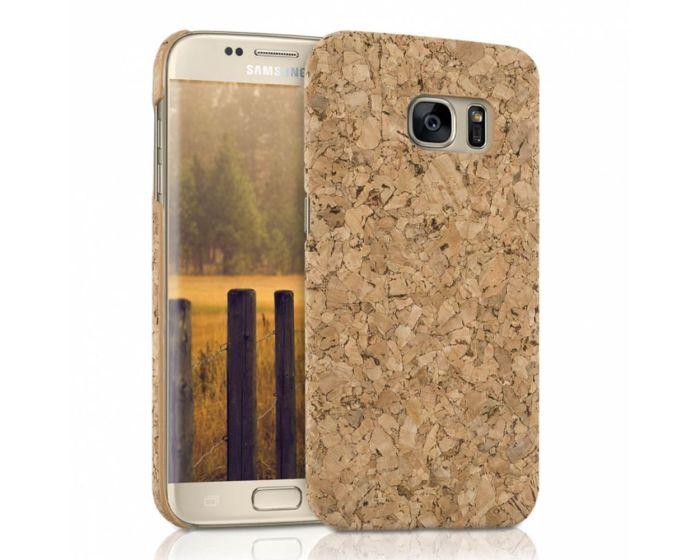 KWmobile Hard Cork Case Θήκη από φελλό (37140.24) Light Brown (Samsung Galaxy S7)