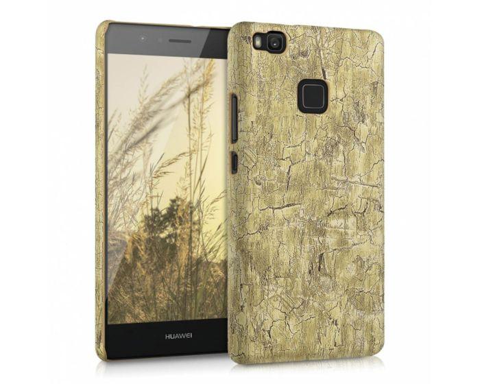 KWmobile Vintage Wood Design Hard Case (38047.24) Light Brown (Huawei P9 Lite)