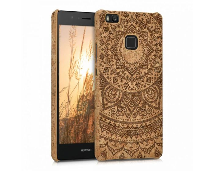 KWmobile Hard Cork Case Θήκη από φελλό (39577.01) Indian Sun (Huawei P9 Lite)