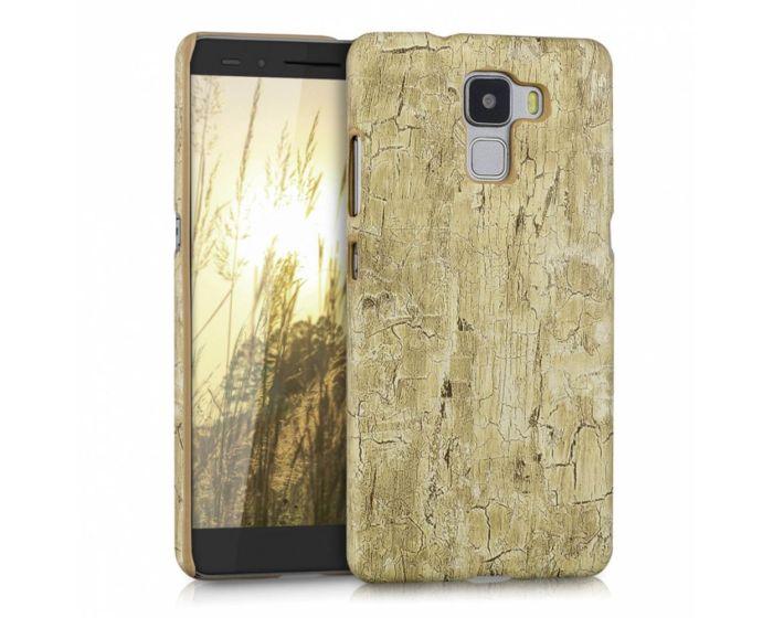 KWmobile Vintage Wood Light Brown Design Hard Case (35878.24) Θήκη Πλαστική (Huawei Honor 7)
