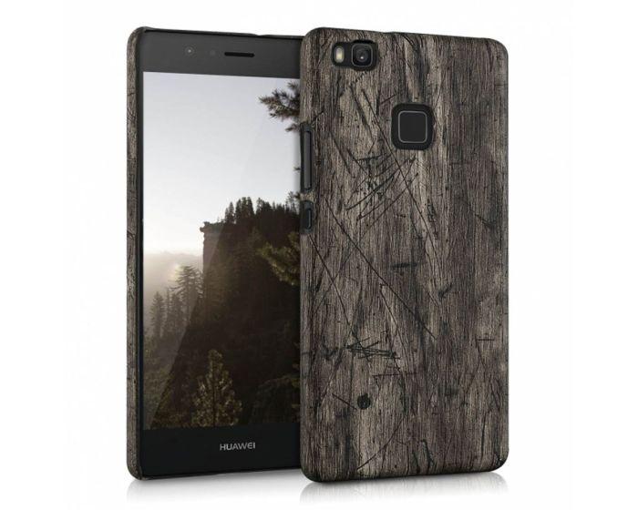KWmobile Vintage Wood Design Hard Case (38047.18) Θήκη Πλαστική (Huawei P9 Lite)