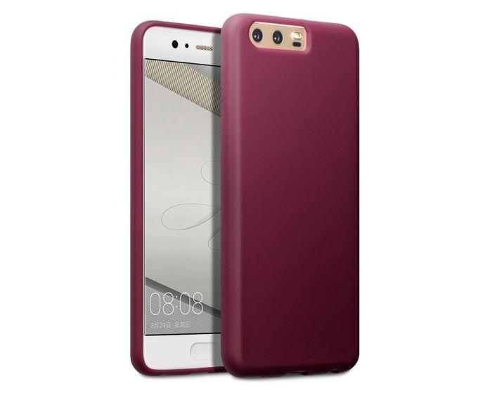 Terrapin Θήκη Σιλικόνης Slim Fit Silicone Case (118-083-098) Red (Huawei P10)