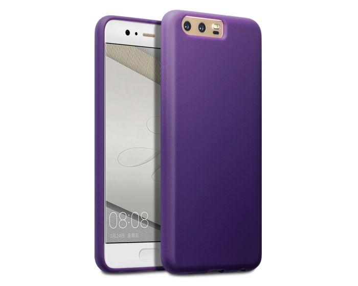 Terrapin Θήκη Σιλικόνης Slim Fit Silicone Case (118-083-099) Purple (Huawei P10)