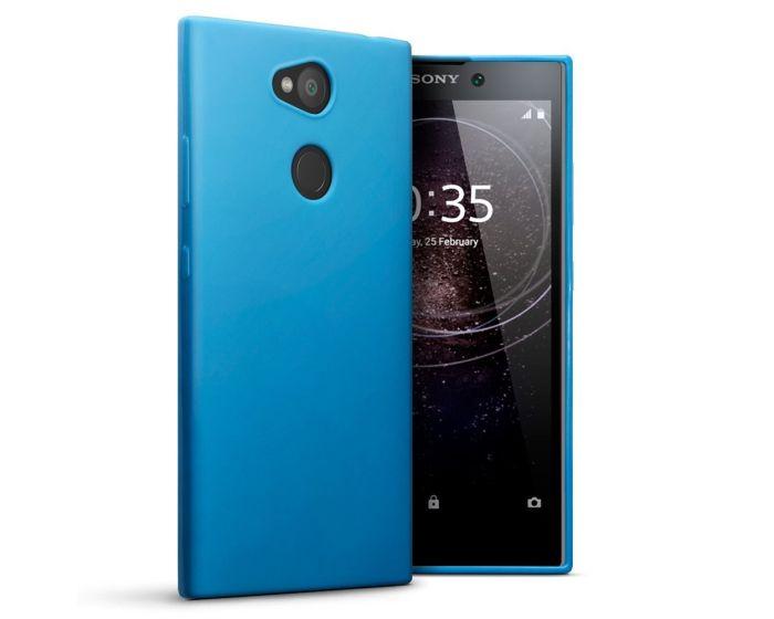 Terrapin Θήκη Σιλικόνης Slim Fit Silicone Case (118-005-429) Light Blue (Sony Xperia L2)