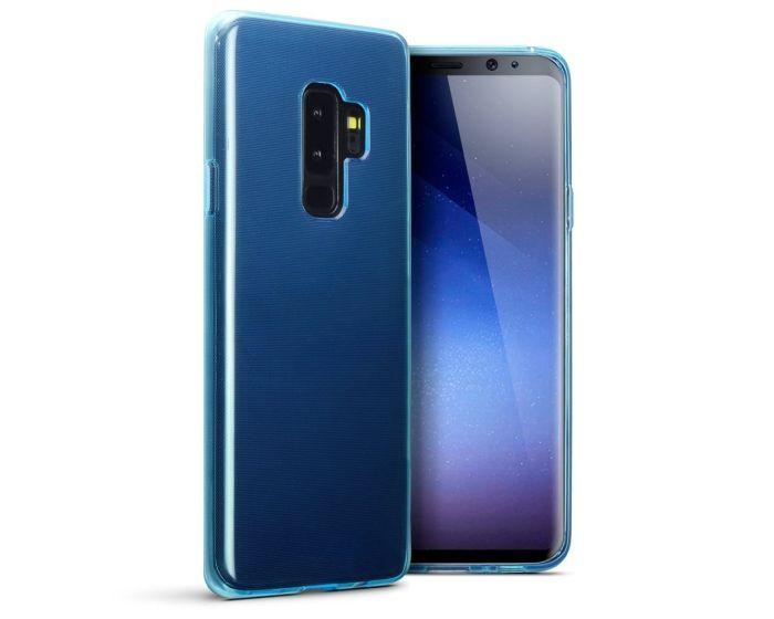 Terrapin Θήκη Σιλικόνης Slim Fit Silicone Case (118-002-679) Ημιδιάφανο Γαλάζιο (Samsung Galaxy S9 Plus)