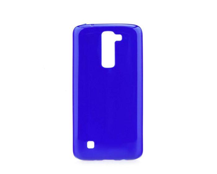 Forcell Jelly Flash Slim Fit Case Θήκη Gel Blue (LG K7)
