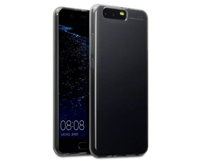 Terrapin Θήκη Σιλικόνης Slim Fit Silicone Case (118-083-112) Smoke Black (Huawei P10 Plus)