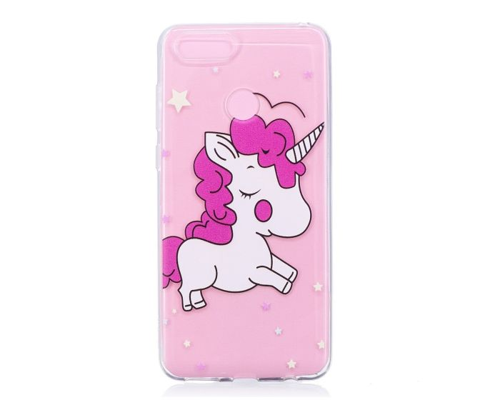 Slim Fit Gel Case Adorable Unicorn Θήκη Σιλικόνης (Huawei Honor 7X)