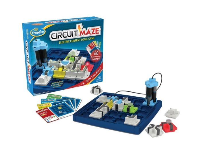 Think Fun Παιχνίδι Λογικής (001008) Circuit Maze