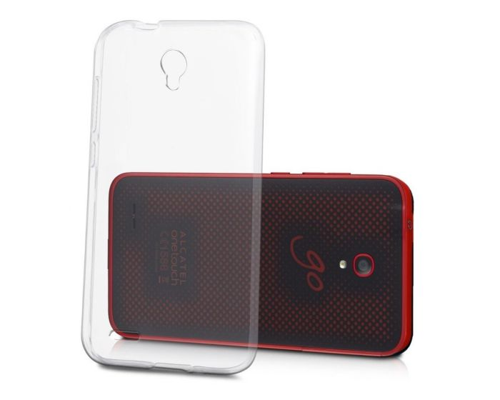 Ultra Slim 0.3mm Silicone Case Θήκη Σιλικόνης Διάφανο (Alcatel One Touch Go Play)