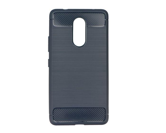 TPU Carbon Armor Ανθεκτική Θήκη Blue (Lenovo K6 Note)