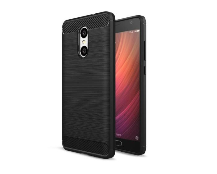 TPU Carbon Rugged Armor Case Ανθεκτική Θήκη Black (Xiaomi Redmi 5)