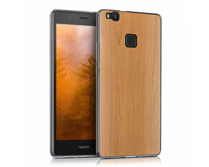 KWmobile Slim Fit Gel Case Cherrywood (39291.02) Θήκη Σιλικόνης Brown (Huawei P9 Lite)