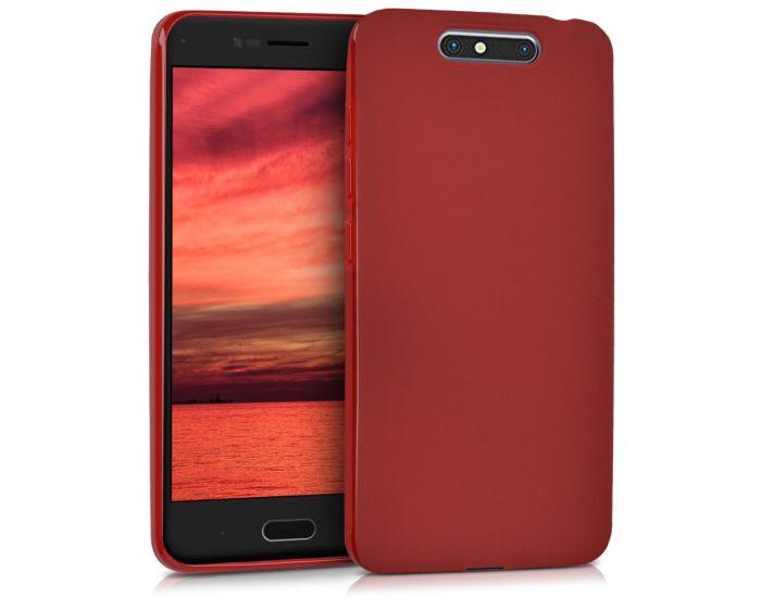 KWmobile TPU Silicone Case (40728.51) Red Matte (ZTE Blade V8)