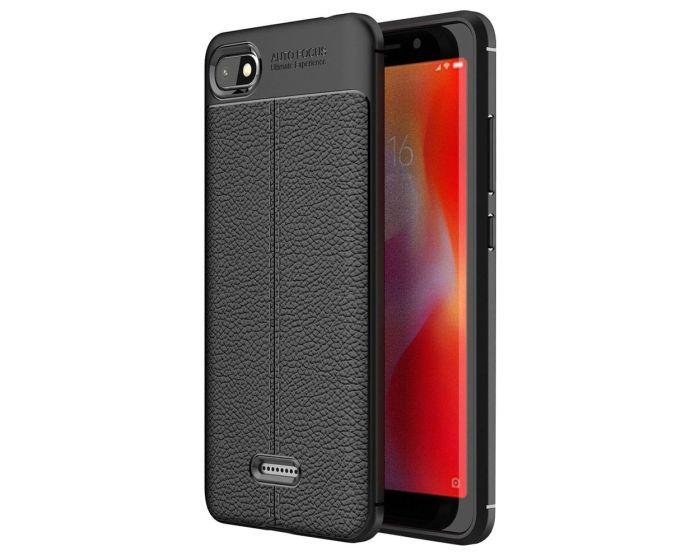 TPU Rugged Armor Football Grain Case Black (Xiaomi Mi A2 Lite / Redmi 6 Pro)