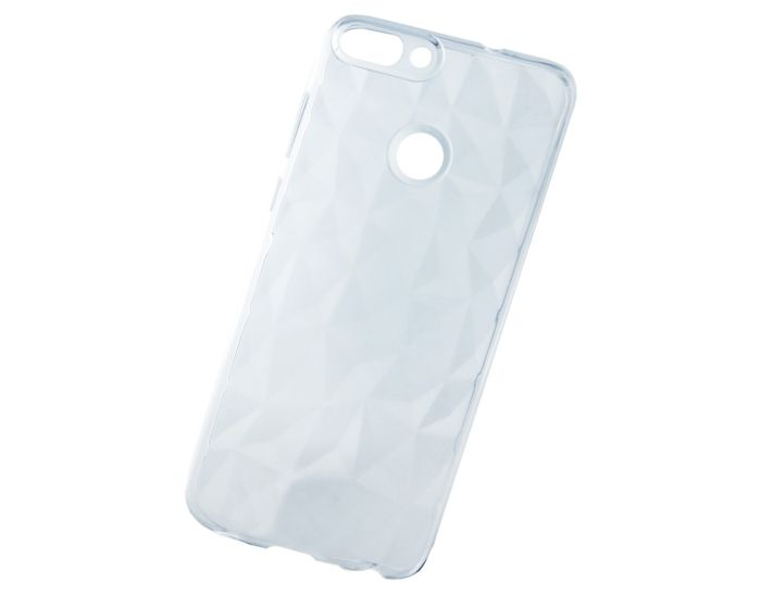 Forcell Air Prism 3D Pattern Flexible Θήκη Σιλικόνης Clear (Huawei P Smart)