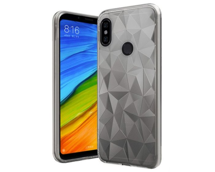 Forcell Air Prism 3D Pattern Flexible Θήκη Σιλικόνης Clear (Xiaomi Redmi Note 5)