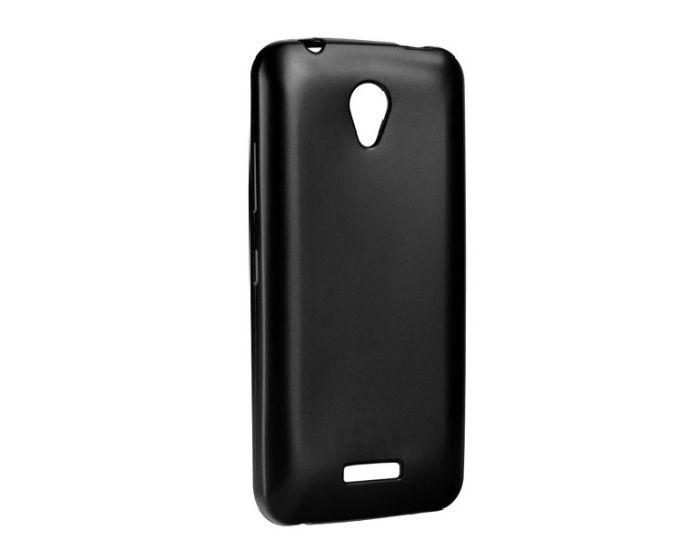 TPU Jelly Matte Slim Fit Case Θήκη Gel Black (Lenovo Vibe B)