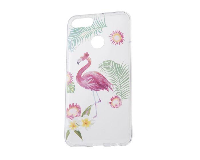 Forcell Slim Fit Gel Case Summer Flamingo Θήκη Σιλικόνης (Xiaomi Mi A1 / 5X)