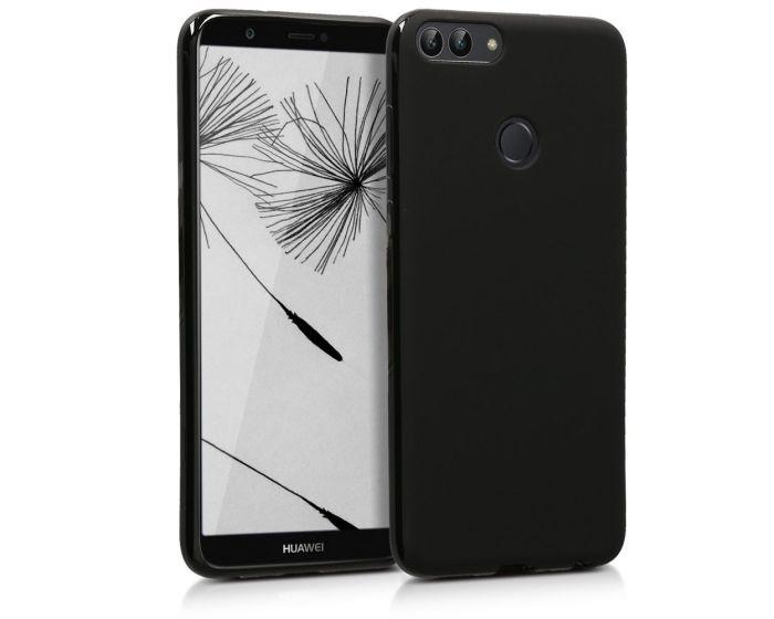KWmobile TPU Silicone Case (44124.47) Black Matte (Huawei P Smart)
