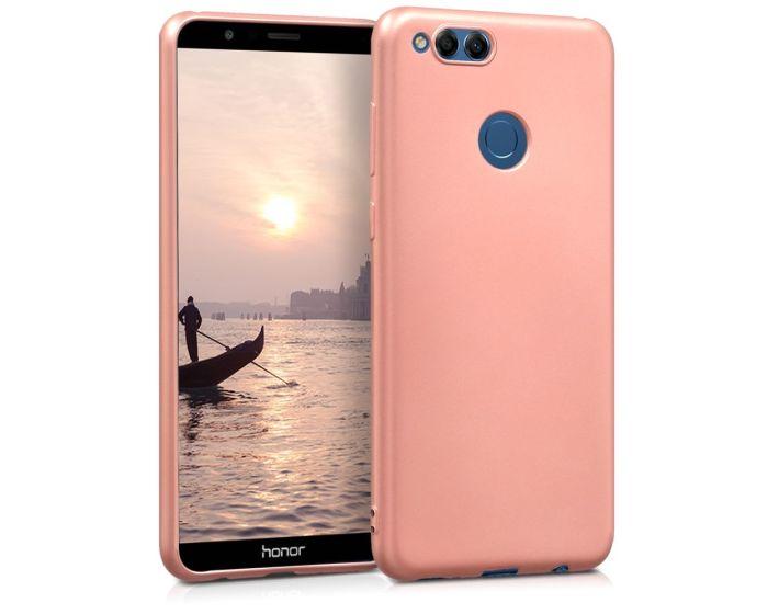 KWmobile TPU Silicone Case (44118.31) Metallic Rose Gold (Huawei Honor 7X)