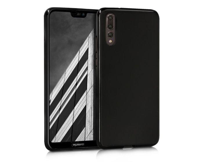 KWmobile TPU Silicone Case (44223.47) Black Matte (Huawei P20 Pro)