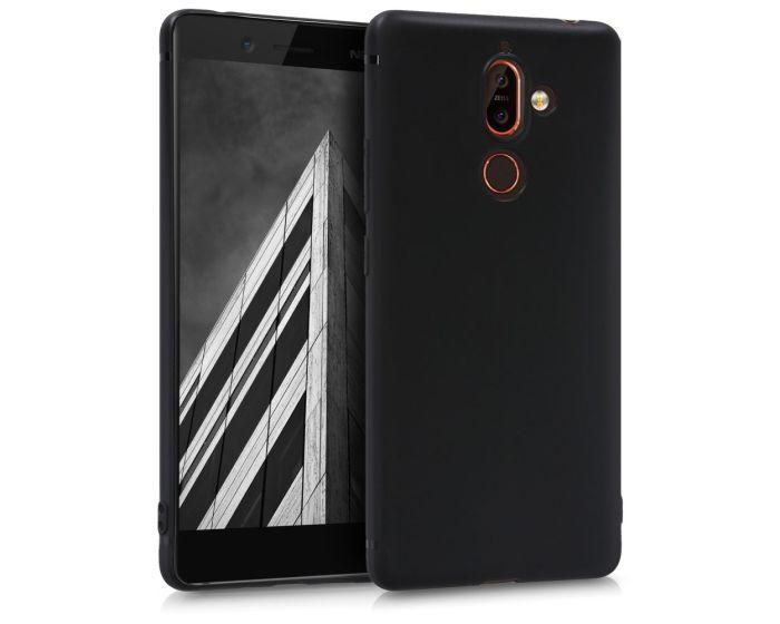 KWmobile TPU Silicone Case (44499.47) Black Matte (Nokia 7 Plus)