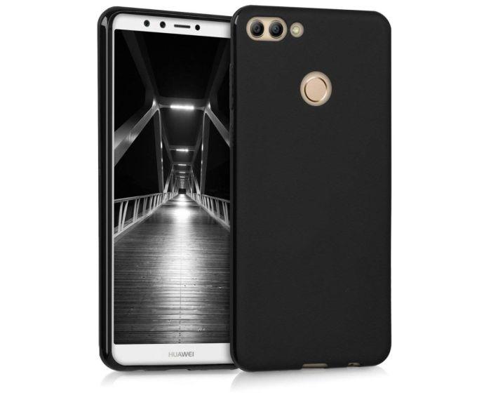KWmobile TPU Silicone Case (44725.47) Black Matte (Huawei Y9 2018)