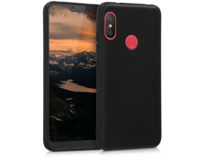 KWmobile TPU Silicone Case (45617.47) Black Matte (Xiaomi Mi A2 Lite / Redmi 6 Pro)