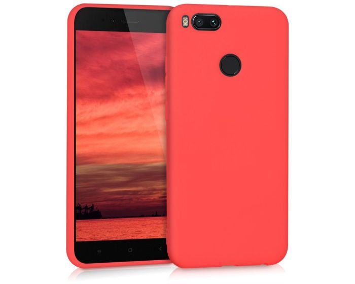 KWmobile Jelly Case Θήκη Σιλικόνης (42838.51) Red Matte (Xiaomi Mi A1 / 5X)