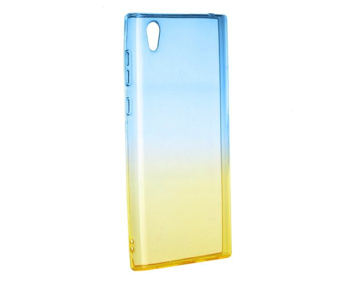 Forcell Soft TPU Case Ombre - Blue / Gold (Sony Xperia L1)