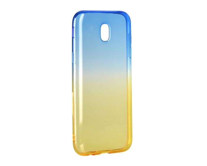 Forcell Soft TPU Ombre - Blue / Gold (Samsung Galaxy J3 2017)