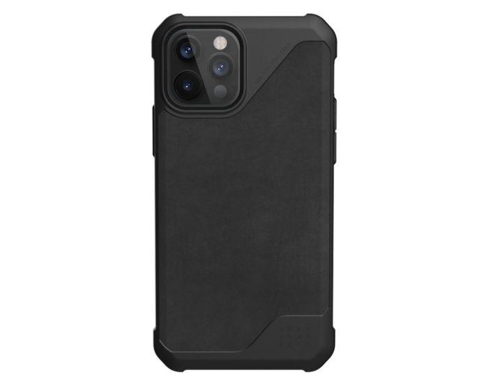 UAG Metropolis LT Leather Case Ανθεκτική Θήκη Black (iPhone 12 Pro Max)