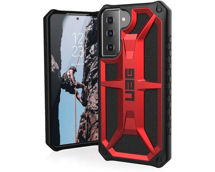 UAG Monarch Case Ανθεκτική Θήκη Crimson (Samsung Galaxy S21 5G)