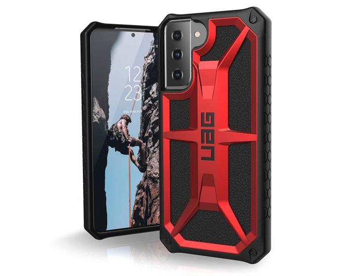 UAG Monarch Case Ανθεκτική Θήκη Crimson (Samsung Galaxy S21 Plus 5G)