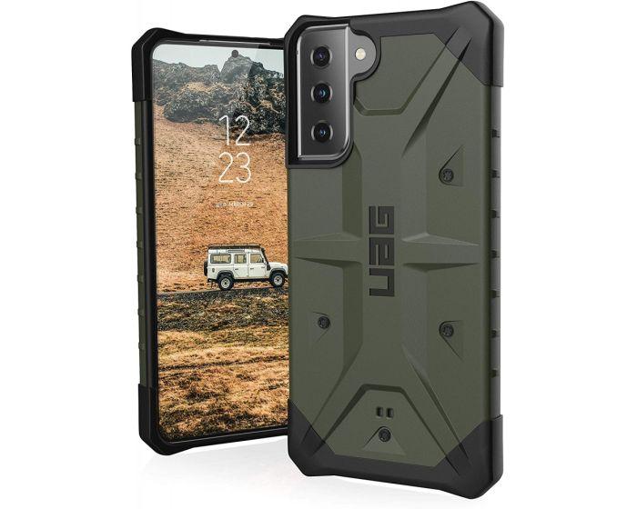 UAG Pathfinder Case Ανθεκτική Θήκη Olive (Samsung Galaxy S21 Plus 5G)