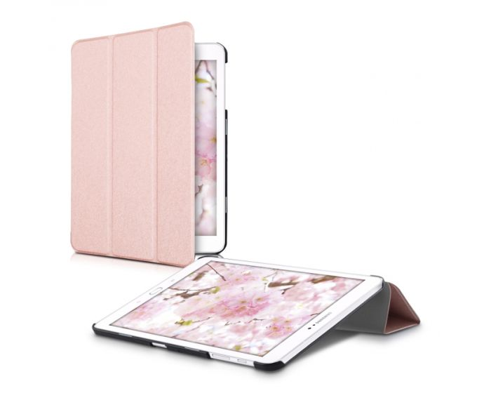 KWmobile Slim Smart Cover Case (29429.81) με δυνατότητα Stand - Rose Gold (Samsung Galaxy Tab S2 9.7 - T810 / T815)